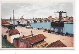DEP. 42 ROANNE - LE PORT DU COTEAU Carte Colorisée - Roanne