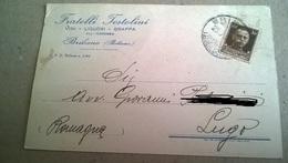 F.LLI TESTOLINI VINI LIQUORI GRAPPA - BRIBANO - VIAGGIATA 1930  (74) - Pubblicitari