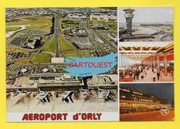 Flughafen ֎ AIRPORT ֎ AEROPORT ֎  Aérogare  De PARIS ORLY SUD AVION  TOUR DE CONTROLE  ֎ 1986 - Aerodromi