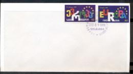 Georgia 1999 Council Of Europe FDC - Georgia