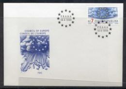 Czech Republic 1999 Council Of Europe FDC - FDC