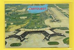 Flughafen ֎ AIRPORT ֎ AEROPORT ֎  Aérogare  De PARIS ORLY OUEST AVION  TOUR DE CONTROLE  ֎ 1976 - Aerodromi