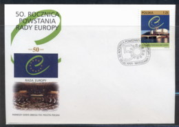 Poland 1999 Council Of Europe FDC - FDC