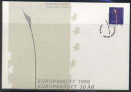 Sweden 1999 Council Of Europe FDC - FDC