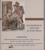 Un Colporteur Savoyard Au XVIIIe Siècle - Diapositives Pédagogiques - Diapositives