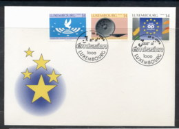 Luxembourg 1994 European Union, Bronze Age FDC - FDC