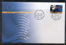 Finland 2001 European Language Year FDC - Finland