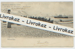 Spitzberg, Spitsbergen, Hamburg-Amerika LinieAn Bord Des Dampfers Oceane 18 Juillet 1907, Advent Bay, Dos Divisé - Norvège