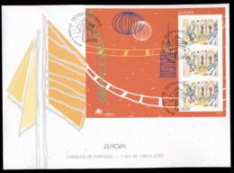 Portugal 1998 Europa Holidays & Festivals MS XLFDC - FDC