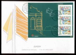 Azores 1998 Europa Holidays & Festivals MS XLFDC - Azores