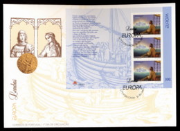 Azores 1997 Europa Myths & Legends MS XLFDC - Azores