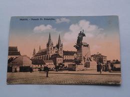 PRAHA Pomnik Fr. Palackyho ( Edit.: ? ) 19?? ( See Photo For Detail ) ! - Tchéquie