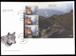 Portugal 1999 Europa Nature Parks MS XLFDC - FDC