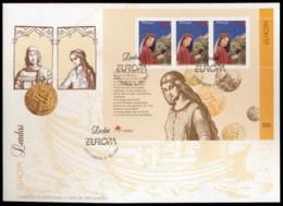 Portugal 1997 Europa Myths & Legends MS XLFDC - FDC