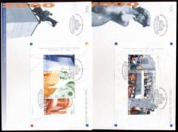 Finland 2000 Helsinki 450th Anniv 2x Booklet Panes 2x XLFDC - Finland