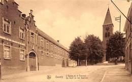 Gavere - De Kerk En Het Gesticht - Gavere
