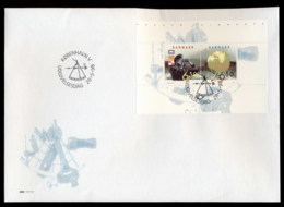 Denmark 1998 Nordic Stamps MS XLFDC - FDC