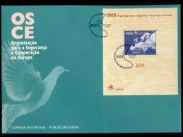 Portugal 1996 Security Summit MS XLFDC - FDC