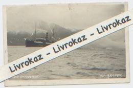 Spitzberg, Spitsbergen, CP écrite à Bord Du Stella Polaris Le 14 Août 1927, Cachet De Longyearbyen, Atelier KK Bergen - Norvège