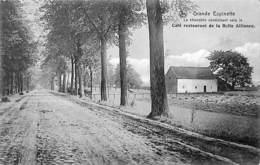 Grande Espinette - La Chaussée Conduisant Vers Café Restaurant De La Belle Alliance - St-Genesius-Rode