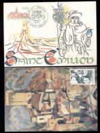 France 1981 Tourism 2x Maxicards - Maximum Cards