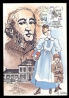 France 1981 Free Compulsory Public School Centenary Maxicard - Maximum Cards