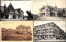 Duinbergen - Lot 4 Cartes (Hôtel Pauwels, Animation Sugg,,) - Knokke