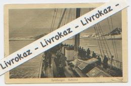 Spitzberg, Spitsbergen, Bellsund, CP écrite Au Spitzberg Le 23 Juillet 1912, Dos Divisé, Cachet De Namur - Norvège