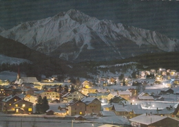 Austria Seefeld Winters Night Postcard Unused Good Condition - Austria