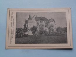 CHLAPECKA VYCHOVNA CES. ZEM. KOMISE V DOBRICHOVICICH ( Edit.: ? ) 1925 ( See Photo For Detail ) ! - Tchéquie