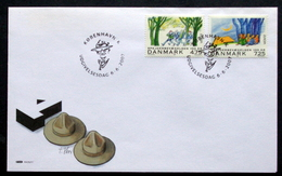 Denmark 2007       EUROPA   MiNr.1470-71     Pladfinder / Scout    (lot FDC  ( Lot  Ks ) - FDC
