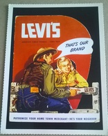 ANNUNCIO PUBBLICITARIO LEVI STRAUSS EXPO OF LEVI'S (95) - Pubblicitari