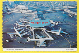 Flughafen ֎ AIRPORT ֎ AEROPORT ֎  Aérogare   SAN FRANCISCO   Harbor Airport  ֎ 1977 AERIAL VIEW - Aerodromi