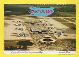 Flughafen ֎ AIRPORT ֎ AEROPORT ֎  Aérogare   HOUSTON TEXAS   Harbor Airport  ֎ 1979 AERIAL VIEW - Aerodromi