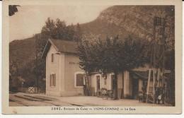 73-30125 -  CULOZ      VIONS - CHANAZ   -   LA GARE - Francia