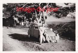 Photo Ancienne  VOITURE CITROEN 2CV AUTOMOBILE - Automobiles