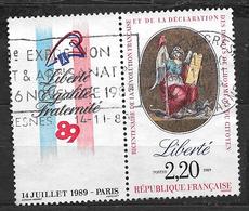 FRANCE 2573 Bicentenaire De La Révolution Et De La Déclaration Des Droits De L'Homme Et Du Citoyen La Liberté . - France