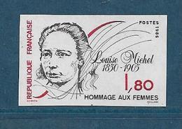 France Timbres De 1986  N°2408a  Non Dentelé Neufs ** Gomme Parfaite - Francia