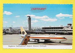 Flughafen ֎ AIRPORT ֎ AEROPORT ֎  Aérogare  STAPLETON International   DENVER COLORADO Airport  ֎ 1973 - Aerodromi