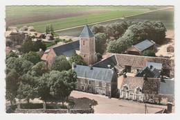 41 En Avion Au Dessus De Binas Vers Morée N°4 Le Centre L'Eglise En 1962 Fermes Foin - Moree