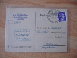 Molsheim Els Cachet Illustre   Obliteration Occupation Guerre 39.45 - Marcofilie (Brieven)