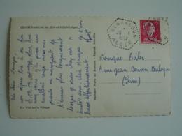 Ben Aknoun Alger Recette Auxiliaire Sur Lettre - Lettres & Documents