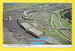 Flughafen ֎ AIRPORT ֎ AEROPORT ֎  Aérogare  La Guardia International   Aéroport à New York Airport  ֎ 1973 - Aerodromi
