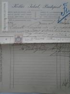 ZA192.21 Hungary   Rechung Faktura Invoice  Kollár Jakab - Lántz -Temesszépfalu  Temes 1913 - Invoices & Commercial Documents