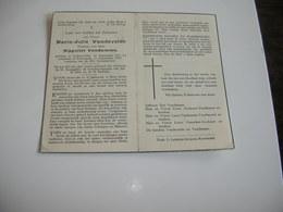 Maria-Julie Vandevelde (Lichtervelde 1861-Kortemark 1945);Vandamme - Devotieprenten