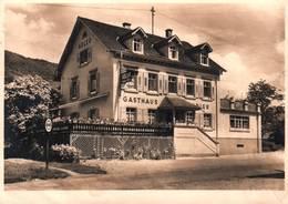 """CPSM - FREIBURG I.Br. - Gasthaus """"Z.ADLER""""c - Weinort Glottertal ... - Freiburg I. Br."""
