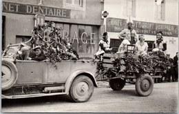 03 EBREUIL - CARTE PHOTO - Carnaval 1932 - France