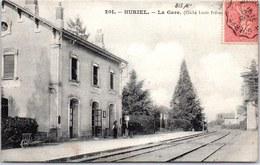 03 HURIEL - La Gare. - France