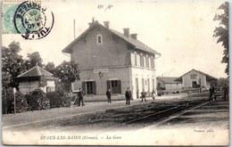 23 EVAUX LES BAINS - La Gare. - Evaux Les Bains