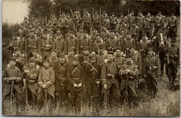 23 LA COURTINE - CARTE PHOTO - Groupe De Militaires à L'exercice. - 1875-1882 Royaume: Alphonse XII